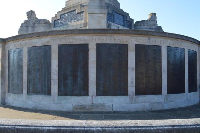 a3b8dce15 Plymouth Naval Memorial - Mediterranean,... © N Chadwick :: Geograph ...