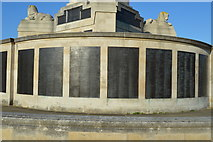 SX4753 : Plymouth Naval Memorial -Burma, Malaysia, Coral Sea panels by N Chadwick
