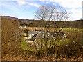 NN9457 : Farm below the A9 near Pitlochry by David Dixon
