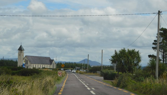 Church of St Finian by Ring of Kerry