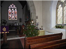 SU9617 : Advent at Holy Trinity, Duncton (c) by Basher Eyre
