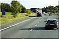 NY4258 : Southbound M6 near Linstock by David Dixon