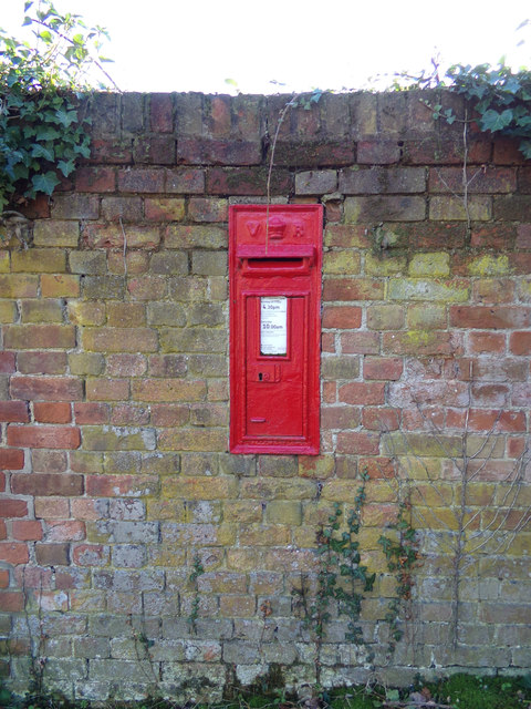 Ashby Dell Victorian Postbox