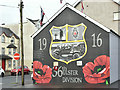 J3674 : 36th Ulster Division mural, Holywood Arches, Belfast (December 2018) by Albert Bridge
