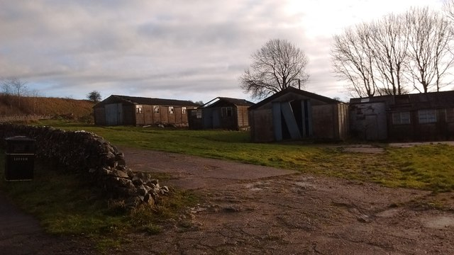 Former PoW Huts.