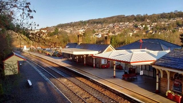 Matlock Station From Footbridge