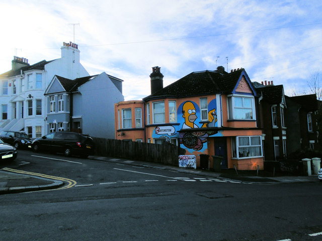 Simpsons Themed house