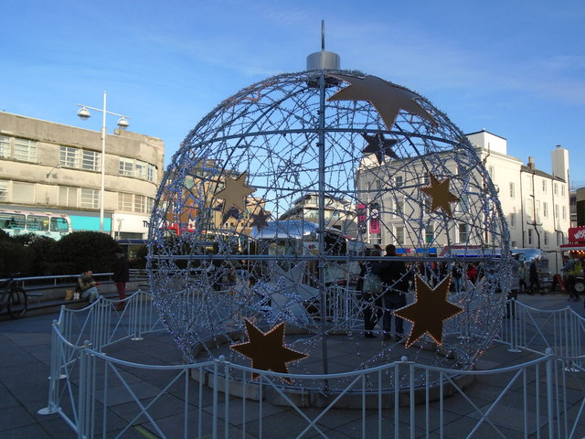 Christmas Bubble - Churchill Square