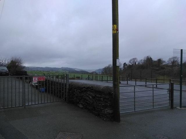 School Yard on Christmas Day