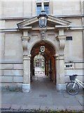 TL4458 : A round the colleges route to Downing Street (65) by Basher Eyre