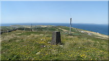V9722 : Cape Clear Island - trig point at highest point of island by Colin Park