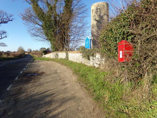 B1074 St Olaves Road & St. Margaret's Church Postbox