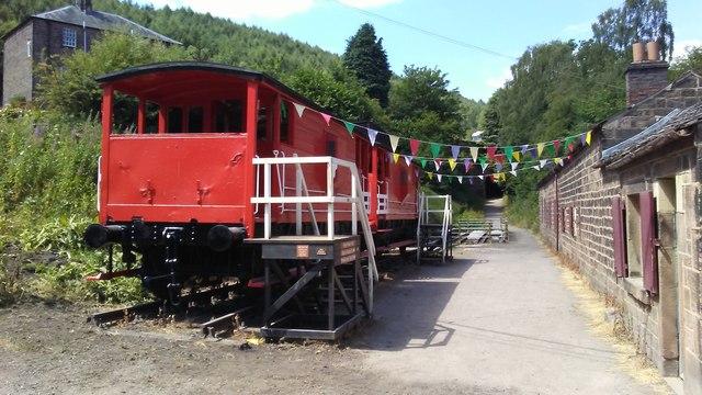 Foot of High Peak Tramway near Cromford
