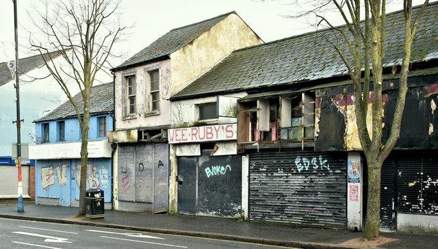 Nos 176-188 Sandy Row, Belfast (December 2018)