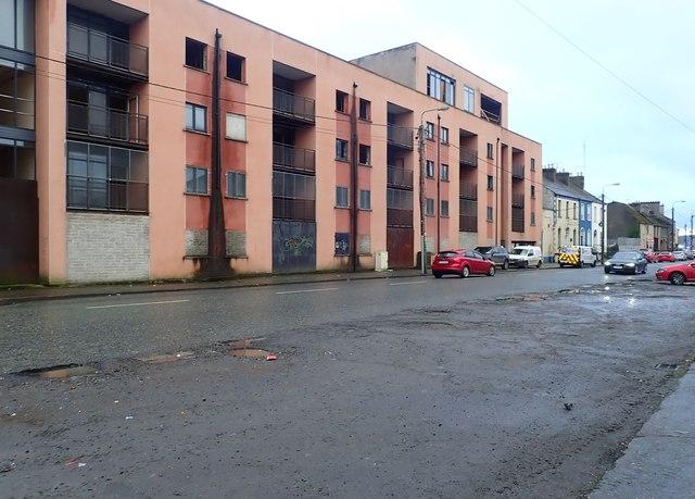 Derelict Ard Dealgan Apartment Building In Quay Street