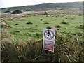 SY8779 : Worbarrow, sign by Mike Faherty