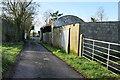 H5471 : Farm buildings along a rough lane, Drumduff by Kenneth  Allen