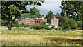 NY3746 : Rose Castle, Cumbria as seen from S of Rose Bridge by Colin Park