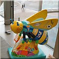 SJ8097 : St John's Bee-attitudes by Gerald England