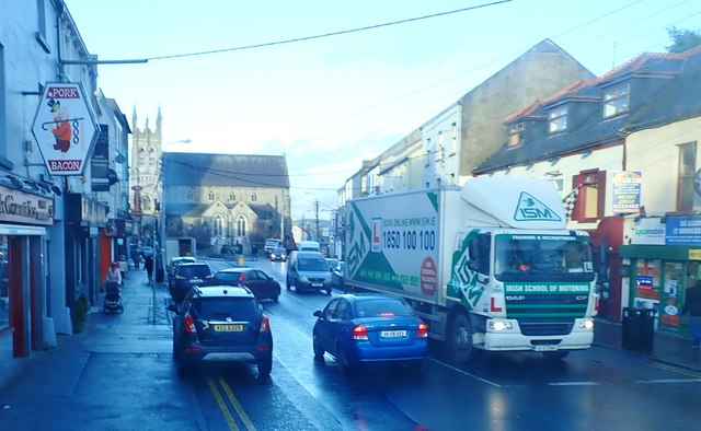 View North along Church Street, Dundalk