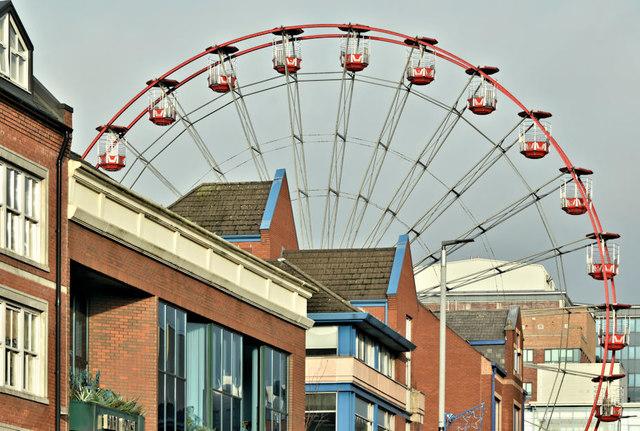 Ferris wheel, Belfast - December 2018(3)