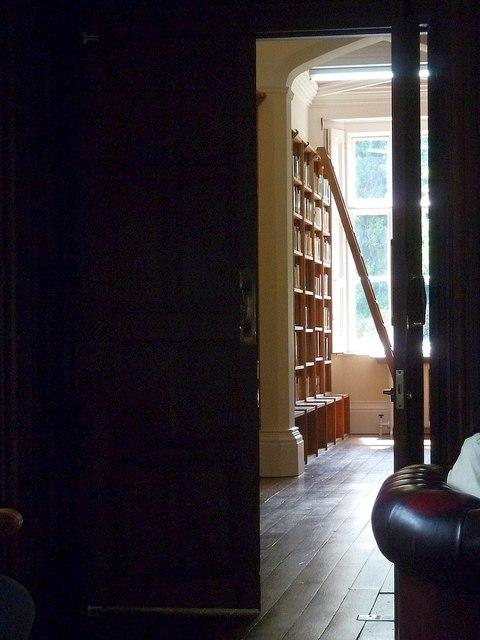 Library at Gregynog