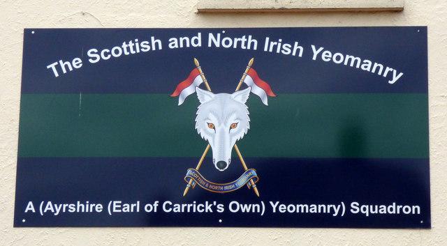 The Scottish & North Irish Yeomanry A Squadron HQ