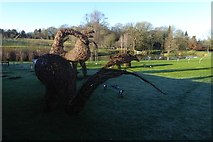 SE2853 : Dinosaurs in Harlow Carr by DS Pugh