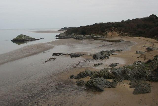 Traeth ger Borth-y-Gest / Beach near Borth-y-Gest