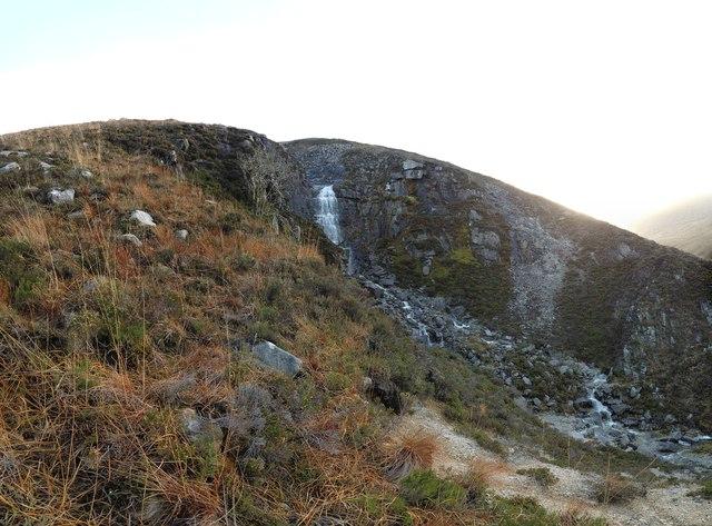 Waterfall at Allt nan Calman