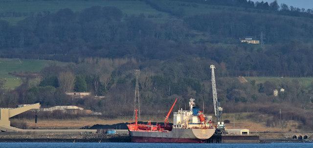 "The ""Tigris"", Kilroot power station, Carrickfergus (December 2018)"