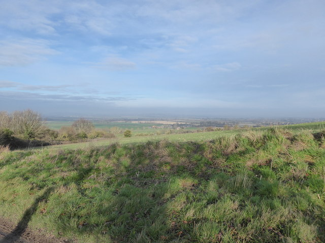 The Vale of the White Horse from Knighton Hill