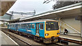 ST3088 : Slow progress with railway electrification (2), Newport Station by Robin Drayton