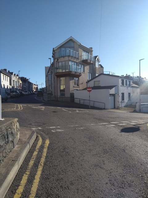 New development near Portrush Harbour