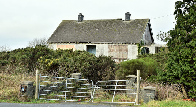 Vacant house, Ballykeel, Craigantlet (December 2018)