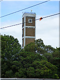 NS3421 : Ayr fire station tower by Thomas Nugent