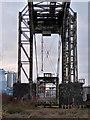 SJ5987 : Transporter bridge (disused, Warrington by Chris Allen