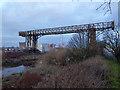 SJ5987 : Transporter bridge (disused), Warrington by Chris Allen