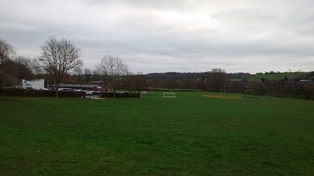 Playing Field in Ashbourne