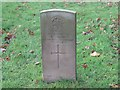 NY9166 : Commonwealth War Grave, WW1, St Michael's Church, Warden by Les Hull