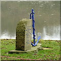 SJ9460 : Memorial to James Ridgway, Rudyard Lake by Stephen Craven