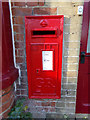 TM4897 : Post Office George V Postbox by Adrian Cable