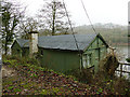 SJ9459 : Old chalet on the shore of Rudyard Lake by Stephen Craven