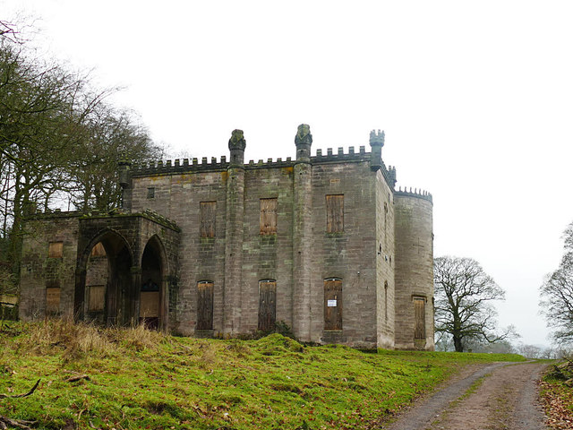 Cliffe Park Hall, south frontage