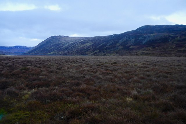 Bog at the head of Loch Garry