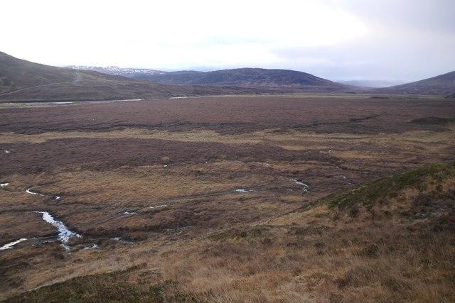 Bog at the head of Loch Garry