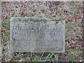 TF8905 : Commemorative plaque by David Pashley