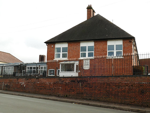 The Thomas Boughey Academy, Halmer End - 1914 buildings