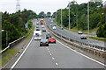SH5569 : Westbound A55 near Bangor by David Dixon