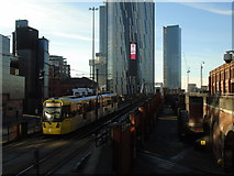 SJ8397 : Deansgate Square by Carroll Pierce